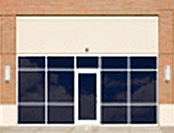 Commercial Window Cleaning: Store Front